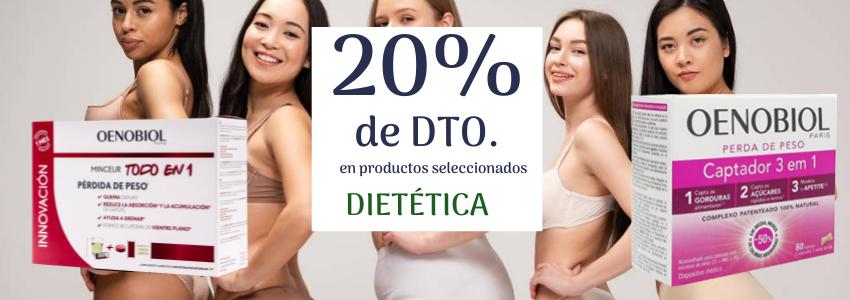 20% de DTO.