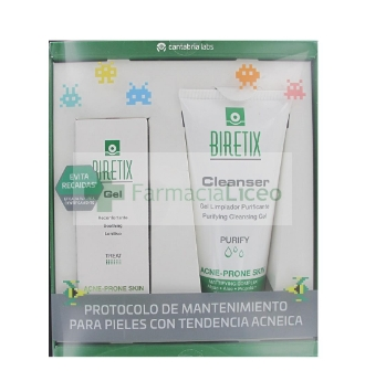 Pack Biretix gel 50 ml + Biretix limpiador cleanser 150ml
