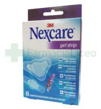 3M NEXCARE GEL STRIP SURTIDO 6 U