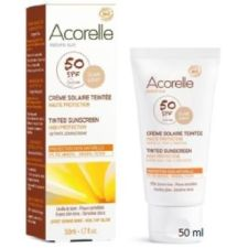 CREMA FACIAL color apricot SPF 50 50ml.