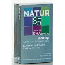 NATUR85 DHA OMEGA 3 1000mg. 30cap