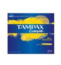 TAMPAX COMPACK REGULAR 20 UNI