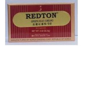 REDTON GINSENG ROJO COREANO 50cap