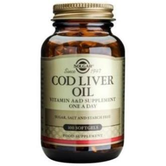 ACEITE HIGADO DE BACALAO (cod liver oil)100cap.b