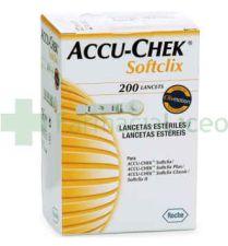 ACCU-CHEK SOFTCLIX LANCETAS 200 U
