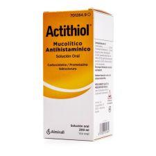 ACTITHIOL MUCOLITICO ANTIHISTAMINICO SOLUCION OR