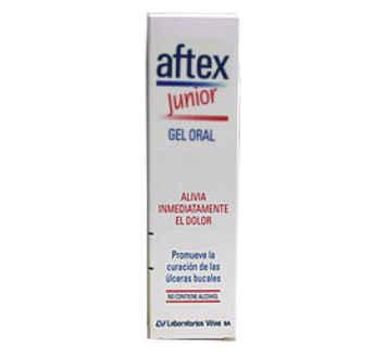 AFTEX JUNIOR GEL ORAL 15 ML