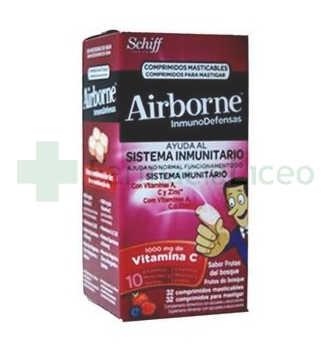 AIRBORNE (INMUNODEFENSAS) COMP MASTICABLES FRUTO