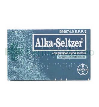 ALKA-SELTZER 2081.8 MG 20 COMPRIMIDOS EFERVESCEN