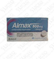 ALMAX 500 MG 30 COMPRIMIDOS MASTICABLES