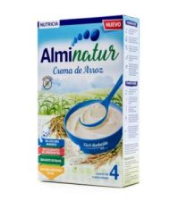 ALMINATUR CREMA DE ARROZ 250 G