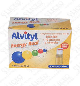 ALVITYL ENERGY REAL 10 ML 8 FRASCOS