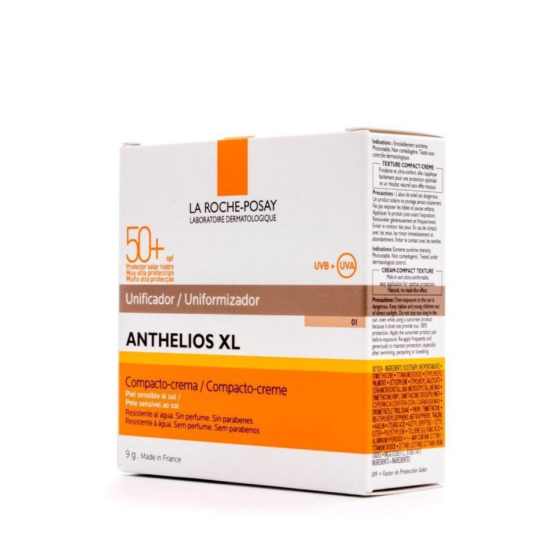 ANTHELIOS COMPACT SPF 50+ 01 CLARO LA ROCHE POSAY