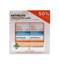 ANTHELIOS PACK CREMA ULTRA S/P 50 ML SPF 50+ 50%2ªU
