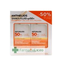 ANTHELIOS PACK SHAKA FLUID 50 ML SPF 50+ 50%2ªU