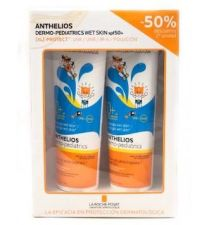 ANTHELIOS PACK WET SKIN PEDIAT 250 ML SPF 50+ 50%2ªU
