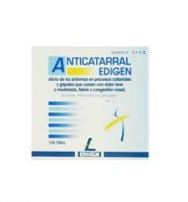 ANTICATARRAL EDIGEN 500/4/10 MG 10 SOBRES POLVO SOLUCION ORAL