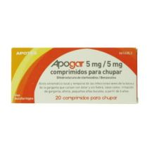 APOGAR 5MG/5MG 20 COMP