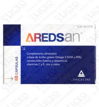 AREDSAN 77.87 GR 60 CAPSULAS
