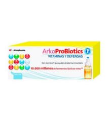 ARKOPROBIOTICS VIT Y DEFENSAS ADULTOS 7 UNIDOSIS