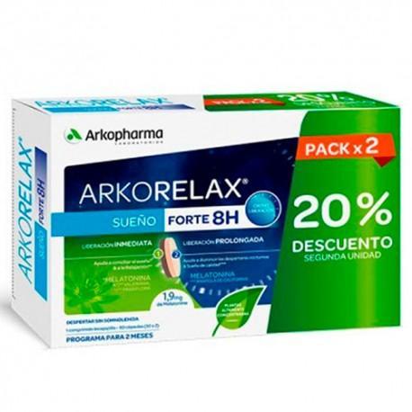 ARKORELAX SUEÑO FORTE CRONOLIBERACION PACK (30X2)