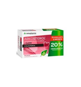 ARKOSTEROL LEVADURA ROJA DE ARROZ + Q10 PACK (60X2)