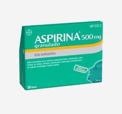 ASPIRINA 500 MG 20 SOBRES GRANULADO