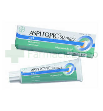 ASPITOPIC 5% GEL TOPICO 60 G