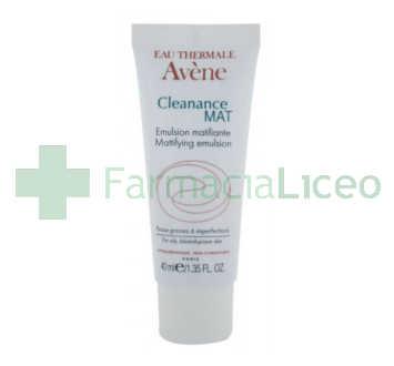 AVENE CLEANANCE EMULSION SEBORREGULADOR MATIFICANTE 40 ML