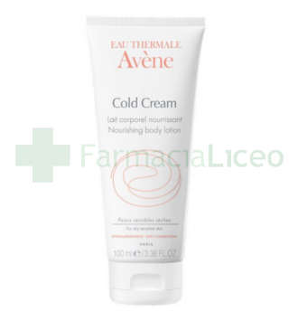 AVENE COLD CREAM LAIT CORPOREL 100 ML