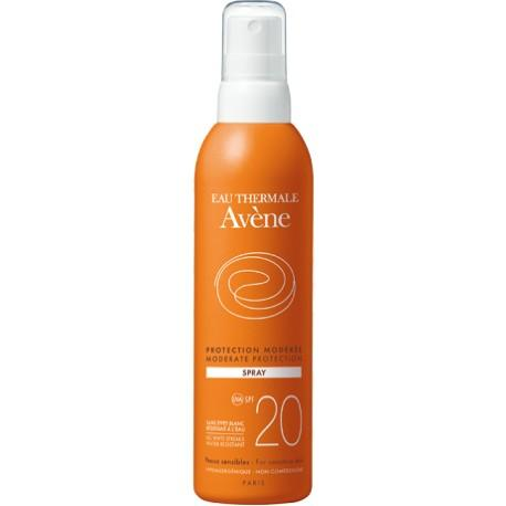AVENE SPF 20  SPRAY PROTECCION MEDIA 200 ML