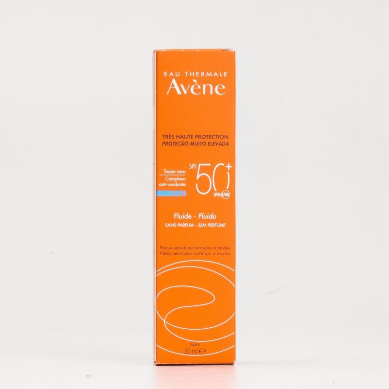 AVENE SPF 50+ FLUIDA MUY ALTA PROTECCION 50 ML