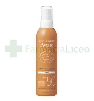 AVENE SPF 50+ SPRAY MUY ALTA PROTECCION 200 ML