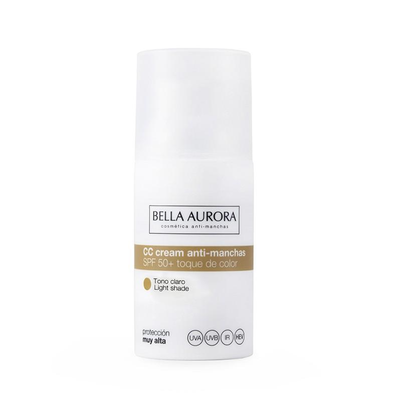 BELLA AURORA CREMA COLOR ANTIMANCHAS SPF50+ PIEL NORMAL/SECA