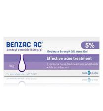 BENZAC 50 MG/G GEL TOPICO 40 G