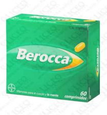 BEROCCA COMPRIMIDOS 60 COMP