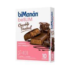 BIMANAN BARRITA CHOCOLATE NEGRO FONDANT 10 BARRITAS DE 31GR