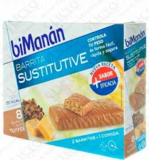 BIMANAN BARRITA TOFFE 40 G 1 BAR (EXP 24 U)
