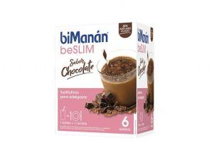 BIMANAN BATIDO CHOCOLATE 6 SOBRES DE 50G