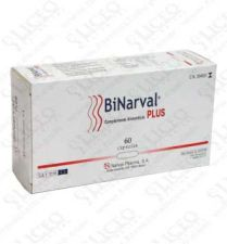 BINARVAL PLUS 760 MG 60 CAPS