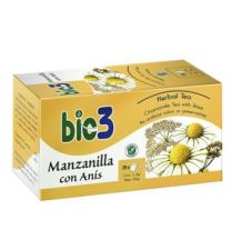 BIO3 MANZANILLA CON ANIS 1.4 G 25 FILTROS