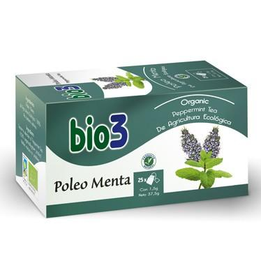 BIO3 POLEO MENTA 1.5 GR 25 FILTROS