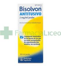 BISOLVON ANTITUSIVO 2 MG/ML JARABE 200 ML