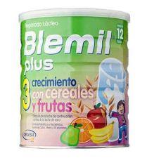 BLEMIL PLUS 3 CRECIMIENTO CEREALES Y FRUTA 800 G
