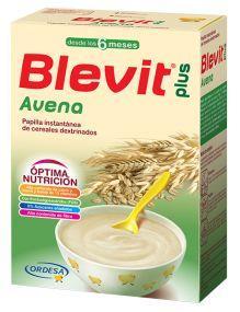 BLEVIT PLUS AVENA 6 MESES 300 GR 12 VITAMINAS