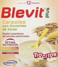 BLEVIT PLUS CEREALES Y CRUNCHIES DE FRUTA 600 G