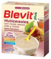 BLEVIT PLUS MIEL FRUTOS SECOS Y FRUTAS MULTICERE