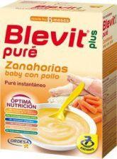 BLEVIT PLUS PURE ZANAHORIAS BABY CON POLLO 280 G