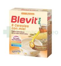 BLEVIT PLUS SUPERFIBRA 8 CEREALES Y MIEL 600 G
