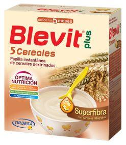 BLEVIT PLUS SUPERFIBRA PAPILLA 5 CEREALES 600 GR